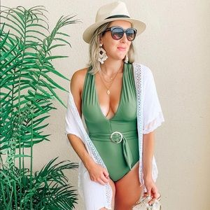 Time and Tru one piece swimsuit